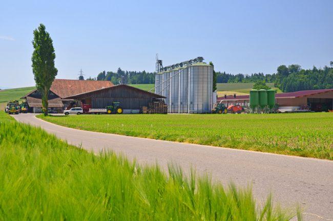moderner Agrarbetrieb